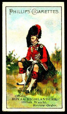 Cigarette Card - Royal Highlanders