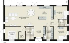 ametisten-plan-fiskarhedanvilla The Plan, How To Plan, Floor Plans, Diagram, Floor Plan Drawing, House Floor Plans
