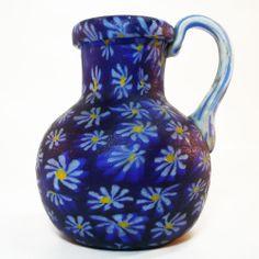 Murano Glas Vase • Fratelli Toso • Murrinen •  Millefiori • Sammlerqualität!