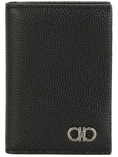 SALVATORE FERRAGAMO Gancini Tall Billfold Wallet. #salvatoreferragamo #wallet
