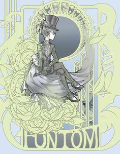 Ciel - Art Nouveau by *madeleine-elizabeth