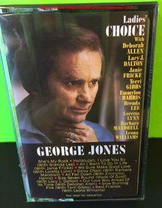 """Vintage SEALED Cassette George Jones """"Ladies Choice""""   eBay"""
