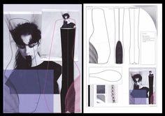 Fashion Sketchbooks, Artist Study with thanks to Ania Leike for Art School Students, CAPI ::: Create Art Portfolio Ideas at milliande.com Art School Portfolio, Fashion, Clothes, GCSE, A Level ,Design, Art, Figurative, Figure, People,