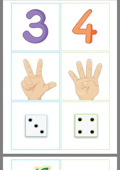 Have a PDF when you need a JPG picture? Use this online, free converter to get the job done. Body Preschool, Numbers Preschool, Learning Numbers, Math Numbers, Preschool Classroom, Kindergarten Math, Teaching Math, Homeschool Preschool Curriculum, Montessori Activities