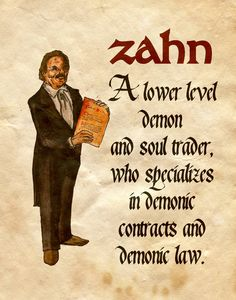 "Book of Shadows:  ""Zahn,"" by Charmed-BOS, at deviantART."