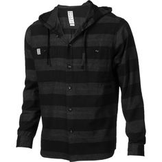 Button up classy flannel hoody.