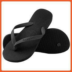 d5271bad9a3e0d Clpp li Women s Flip Flops Beach Slippers Black - Size 7-8 - Sandals