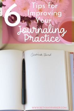6 Tips for Improving Your Journaling Practice Article On Stress, Writing Therapy, Adrenal Health, Ways To Relieve Stress, Improve Mental Health, Spiritual Health, Healthy Lifestyle Tips, Thoughts And Feelings, Positive Mindset
