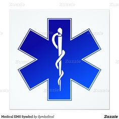 Planning a #DoctorsDay Event? Customize these Medical EMS Symbol Invites by #Symbolical #gravityx9 #MedicalSymbol -