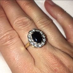 Jessica added a photo of their purchase Seed Pearl Ring, Vintage Items, Vintage Jewelry, Victorian Ring, My Engagement Ring, Ring Crafts, Three Stone Rings, Garnet Rings, Diamond Flower