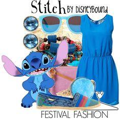 """Stitch"" by leslieakay on Polyvore"