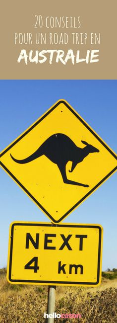 20 conseils pour organiser un road trip en Australie ! #voyage #roadtrip #australie