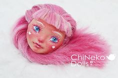Custom Monster High Doll OOAK Cupid Only HEAD