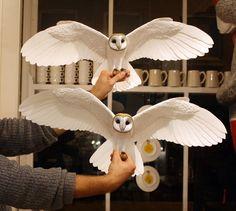 Pássaros de papel e madeira que parecem de verdade stylo urbano-5