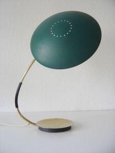 Huge-KAISER-IDELL-6787-Mid-Century-Modern-BAUHAUS-Modernist-TABLE-LAMP-1950s