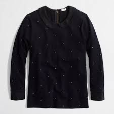 J Crew Dot Sweater