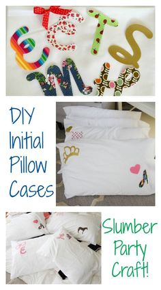 Alex's Faux Slumber Party Great ideas for throwing a Sleep Under Party: sleepunder, faux slumber party, sleepover party Pajama Party Kids, Slumber Party Crafts, Sleepover Birthday Parties, Girl Sleepover, Slumber Party Games, Kids Birthday Party Invitations, Craft Party, Diy Party, Birthday Party Themes
