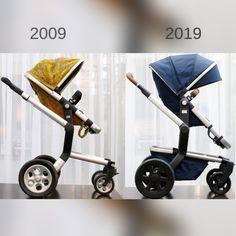Was hat sich nicht alles verändert? Der Kinderwagen passt sich perfekt an die Bedürfnisse der Eltern an. #stroller #kinder #eltern #schwanger Baby Boomer, Future Maman, Baby Strollers, Children, Daddy To Be, Parents, Pram Sets, Baby Prams, Young Children