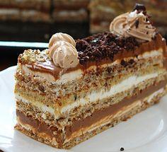 Brze Torte, Kolaci I Torte, Russian Cakes, Russian Desserts, Russian Recipes, Best Cake Recipes, Sweet Recipes, Dessert Recipes, Winter Torte