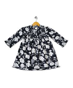 Take a look at this Navy Nancy Dress - Infant & Girls by Eternal Creation on #zulily today!