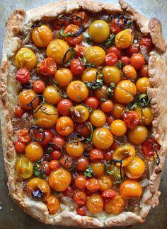 Cherry Tomato Tart - FancyCasual
