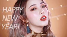 🐶 2018 Golden Makeup for the Year of the Dog (With subs) 2018년 무술년 황금 개띠 메이크업✨ - YouTube