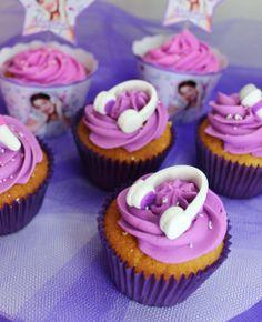 Cupcakes Violetta Disney by Violeta Glace