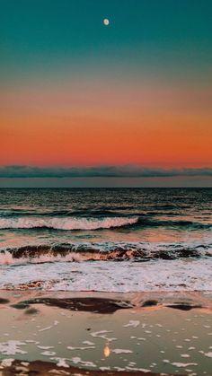 Wallpaper Pastel, Ocean Wallpaper, Summer Wallpaper, Iphone Background Wallpaper, Aesthetic Pastel Wallpaper, Aesthetic Backgrounds, Aesthetic Wallpapers, Aesthetic Stickers, Wallpaper Iphone Vintage