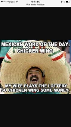 34 Best Mexican Word Of The Day Images Jokes Mexican Words Jokes