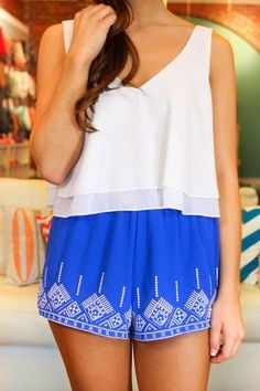 Greek style shorts