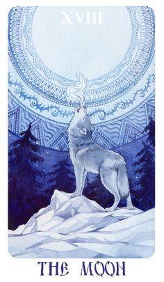 Mila Losenko Russian folkloric tarot images