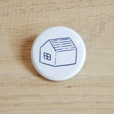 NORITAKE「いえ」バッジ - mon cifaka online store - 岡山市の雑貨・家具などのセレクトショップ