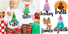 $4.95 - Personalized Holiday Iron-on Transfers - 16 Designs! - http://www.pinchingyourpennies.com/4-95-personalized-holiday-iron-on-transfers-16-designs/ #Ironontransfers, #Jane, #Pinchingyourpennies