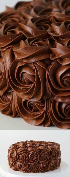awesome whipped chocolate buttercream frosting - i am baker Chocolate Buttercream Frosting, Cupcake Frosting, Cake Icing, Cupcake Cakes, Fluffy Frosting, Chocolate Frosting Recipes, Chocolate Fudge Frosting, Whipped Buttercream, Buttercream Recipe
