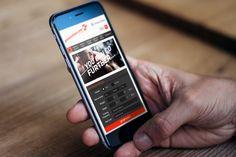 GoNutrition Ecommerce website on mobile.