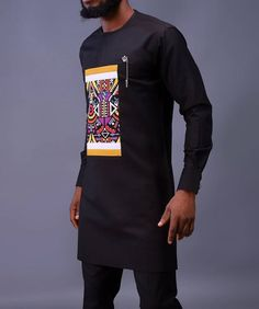 Latest African Wear For Men, African Shirts For Men, African Dresses Men, African Attire For Men, African Clothing For Men, Nigerian Men Fashion, African Men Fashion, Fashion Men, Fashion Ideas