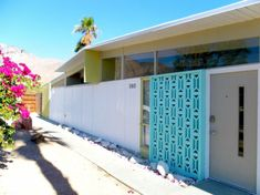 Inspiring breeze block wall fences ideas 26