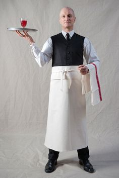 Apron, Old Town Clothing, natural cotton canvas