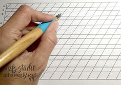 Lefty Calligraphy: You have the advantage — M2B Studio - Calligraphy by Missy Briggs
