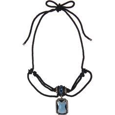 LANVIN- Cordes & Diamants Choker $990.00
