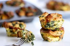 Egg & Bacon Mini Casseroles ‹ Hello Healthy