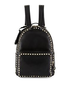 af586b7662eb0 Valentino Garavani Rockstud Medium Backpack