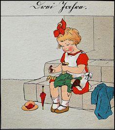 Lia Doering / Im Garten der Kindheit
