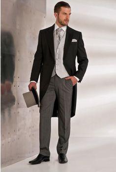 Costume redingote pour homme.