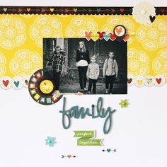 Simply Stories We Are Family by Rachel Lowe - Family Perfect Together: