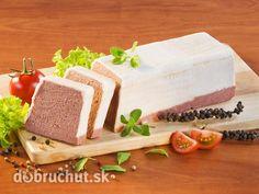 Paštéta z bravčového mäsa a pečene Feta, Cheesecake, Dairy, Appetizers, Cooking Recipes, Pudding, Desserts, Tailgate Desserts, Snacks