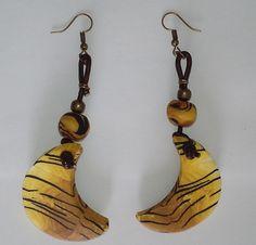 "Ohrringe ""Animalplanet"" Unikat 36 Dangle Earrings, Hanging Earrings, Dangles, Creations, Handmade Jewelry, Ootd, Etsy, Sun, Beautiful"