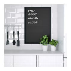 KLÄTTA Decorative stickers, chalkboard