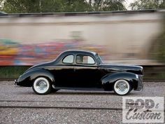 1940 Ford Coupe - quintessential hot rod