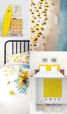 yellow decor / sfgirlbybay  #geel #interieur